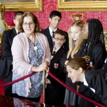 Creative Writing in The State Rooms, Buckingham Palace