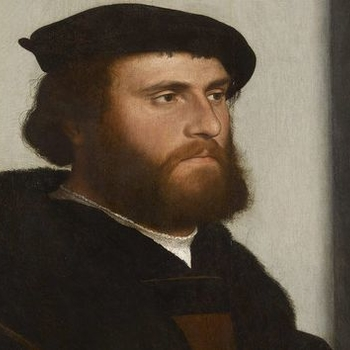 Hans Holbein the Younger, A Merchant of the German Steelyard: 'Hans of Antwerp', 1532
