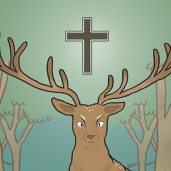 Holyrood stag