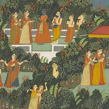 Detail from the Gita Govinda