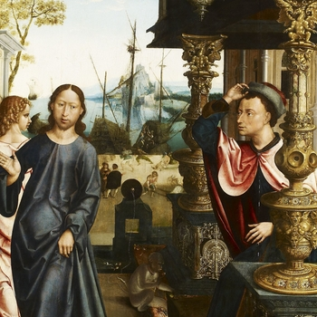 Jan Mertens the Younger, Master of the Abbey of Dilighem, Calling of Matthew, 1530s