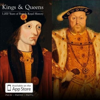 Portraits of Henvry VII, Henry VIII and Edward VI