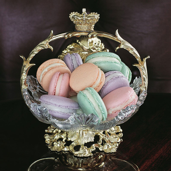 Clementine Macarons from the 'Royal Teas' cookbook