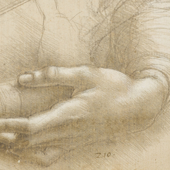 A study of a woman's hands
