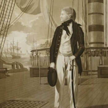 Prince William at sea, 1782