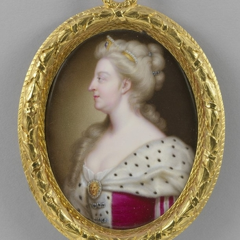 Portrait of Queen Caroline of Ansbach by Christian Friedrich Zincke