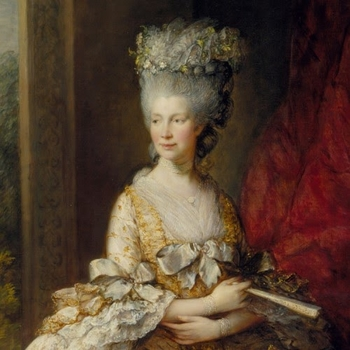 painting of Queen Charlotte