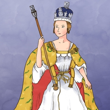 Illustration of Queen Victoria