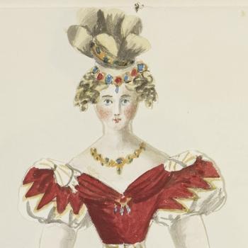 Queen Victoria's paper dolls