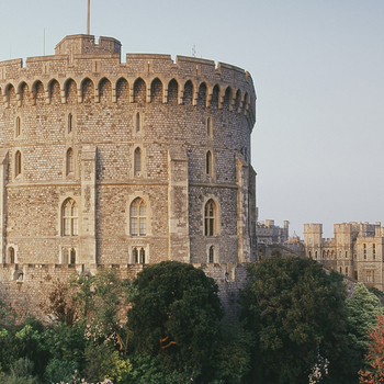 Windsor Castle's iconic Round Tower