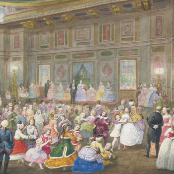 The Children's Fancy Ball at Buckingham Palace