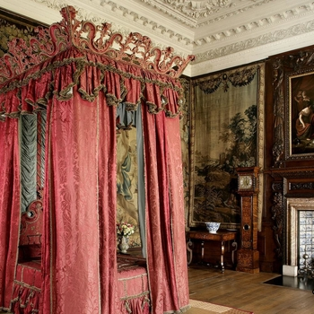 The King's Bed Chamber, Palace of Holyroodhouse