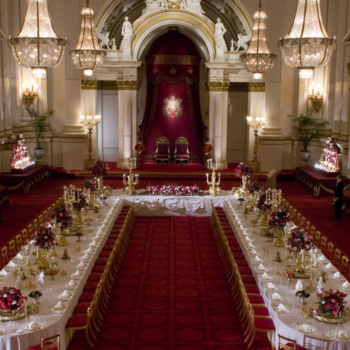 The Ballroom at Buckingham Palace