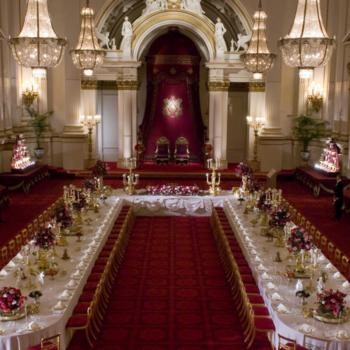 The Ballroom at Buckingham Palace