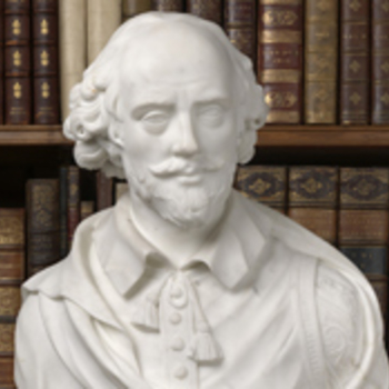 Bust of Shakespeare in the Royal Library