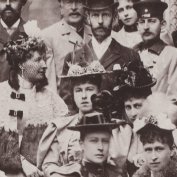 Photograph of members of Queen Victoria's family