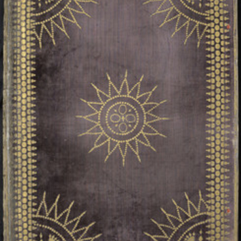 Bound cover of a volume