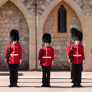 Changing the Guard at Windsor Castle