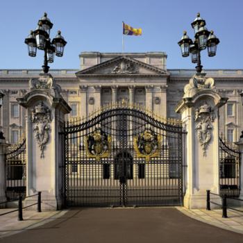 Gates at Buckingham Palace