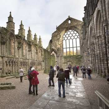 Abbey at Palace of Holyroodhouse