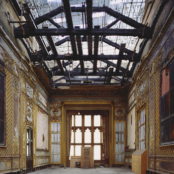 Image of Grand Reception room at Windsor after fire