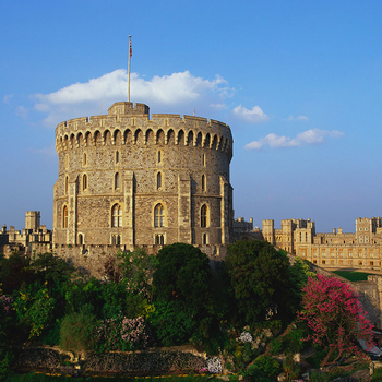 The Round Tower at Windsor Castle