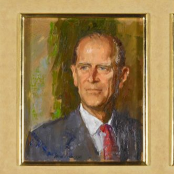 Painting of Prince Philip