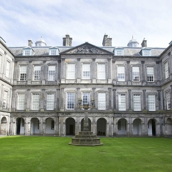 Palace of Holyroodhouse quadrangle