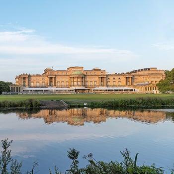 The garden at Buckingham Palace