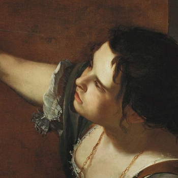 Portrait of the Artist Teaser image of Artimisia Gentileschi