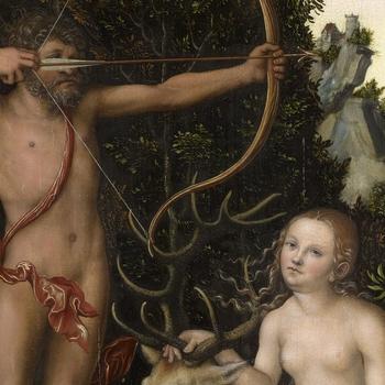 Apollo and Diana by Lucas Cranach the Elder, c.1526