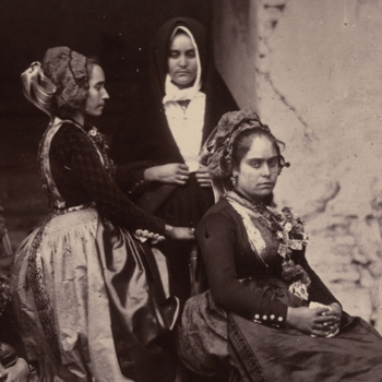 Wedding group in Estremadura, Spain c.1858