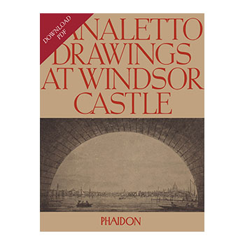 Canaletto Drawings at Windsor Castle book cover