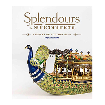 Splendours of the subcontinent book cover