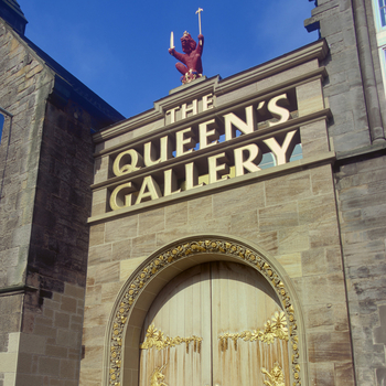 The Queen's Gallery, Edinburgh exterior