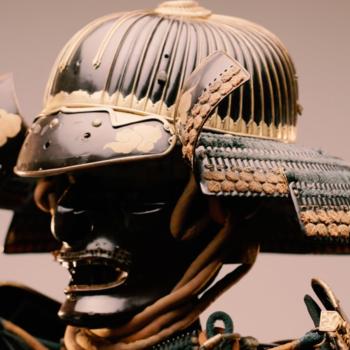 James I armour close shot of Helmet