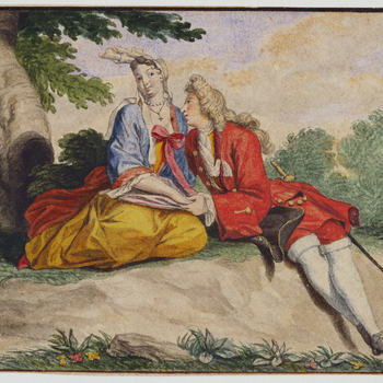 A pair of lovers in a landscape