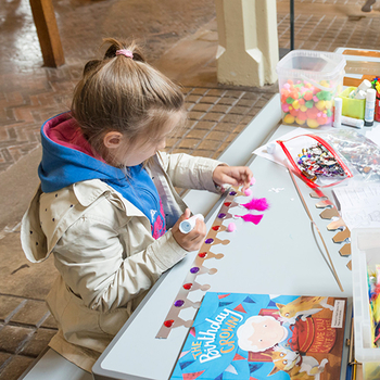 Children activities at the Royal Mews