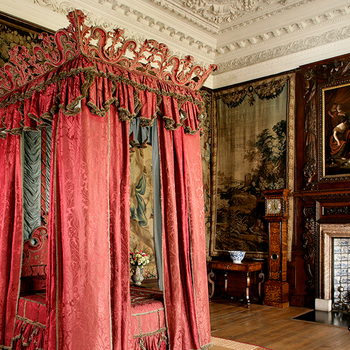 King's Bedchamber, Palace of Holyroodhouse