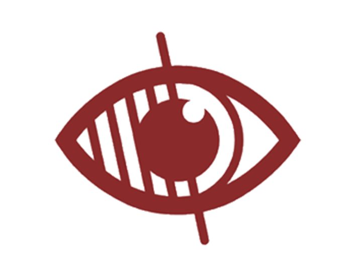 Blind or partially-sighted logo