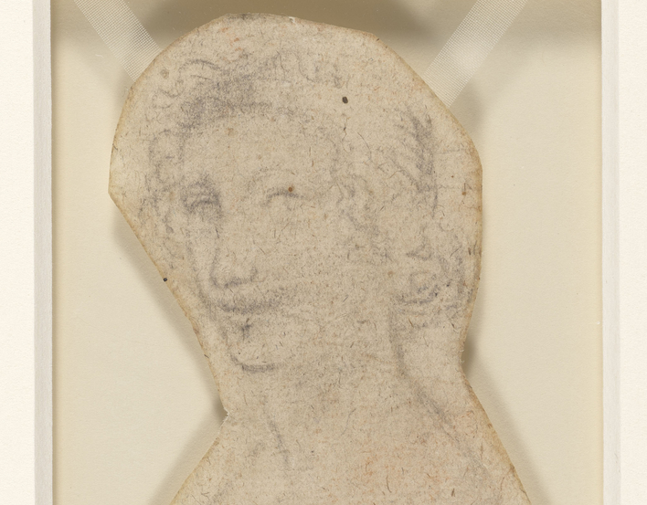 The bust of a young man