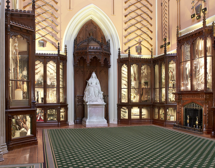 Grand Vestibule at Windsor Castle
