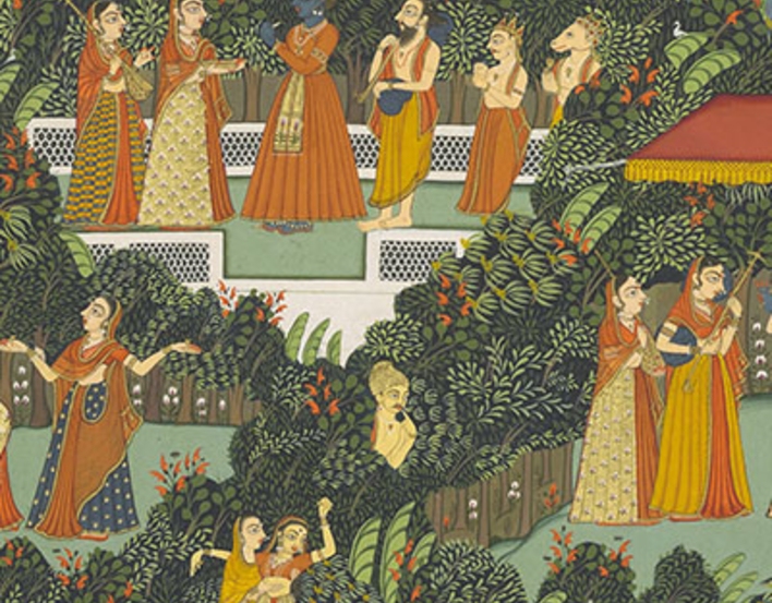 Detail from the Gita Govinda