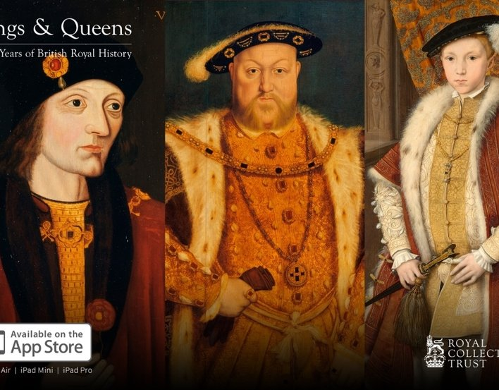 Portraits of Henry VII, Henry VIII and Edward VI