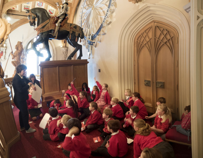 Shakespeare creative writing for schools at Windsor Castle