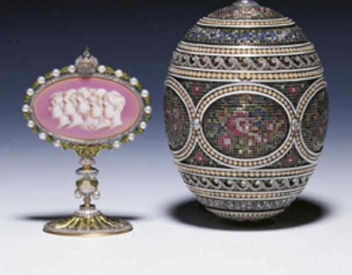 Faberge mosaic egg