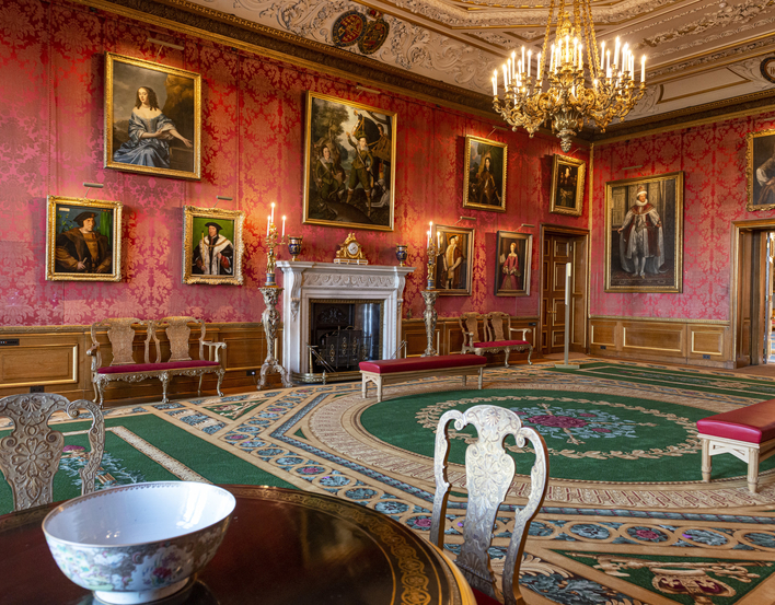 The Queen's Drawing Room, Windsor Castle.