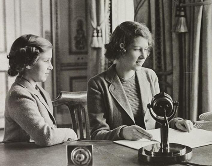 Princess Elizabeth's first broadcast