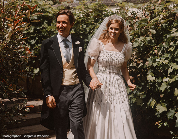 Princess Beatrice's wedding dress