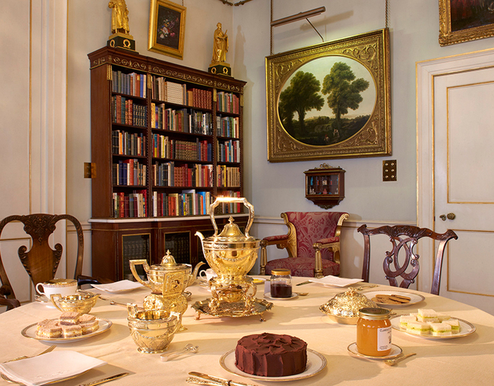Clarence house Library
